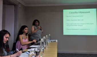 An expert from ISHR Azerbaijan discusses ombuds(wo)men in her country