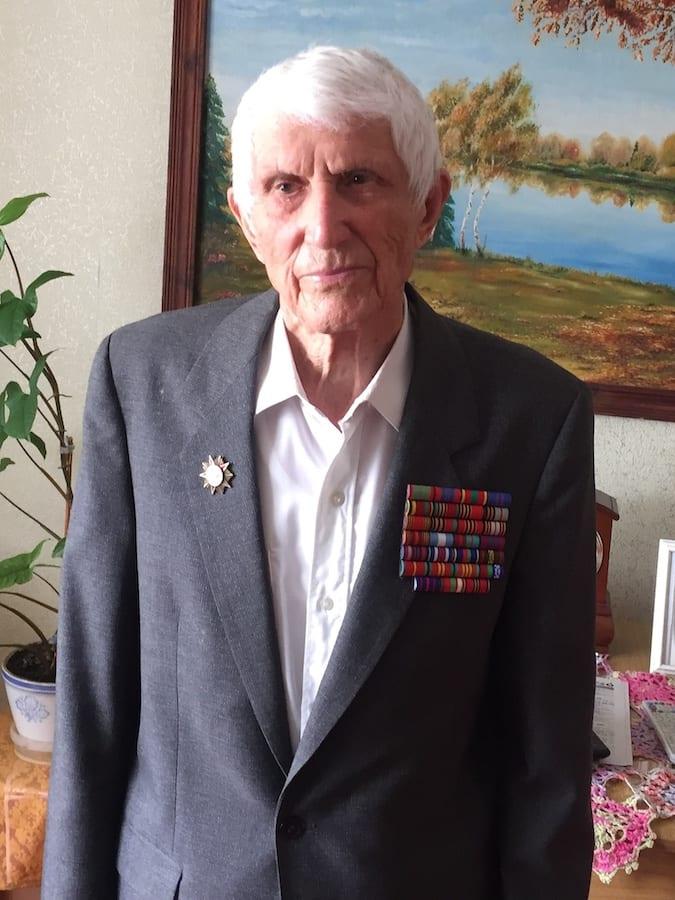 World War II veteran Konstantin Kruglikov